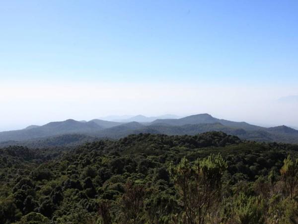 Наш гид показывал нам на горизонте границу Кении, мы не видели, но верили